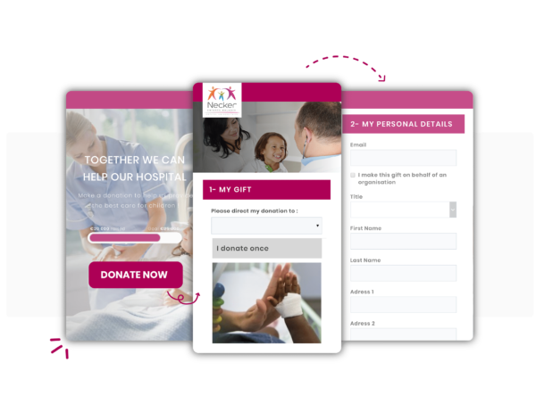Piattaforma di digital fundraising per Ospedali e istituti di ricerca